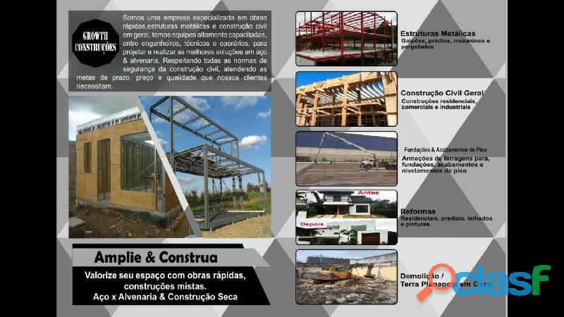 Estruturas metálicas & construção civil