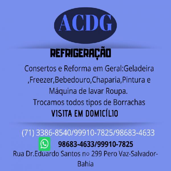Acdg rerigeração conserto em geral