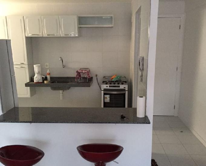Apartamento quarto e sala mobiliado na jatiuca
