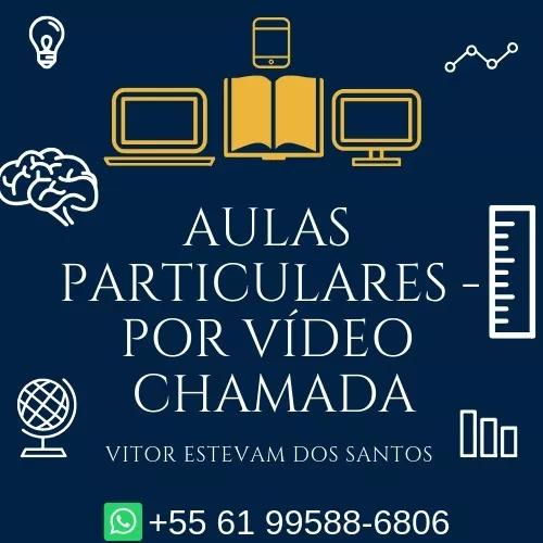 Aulas particular - online (por vídeo chamada)
