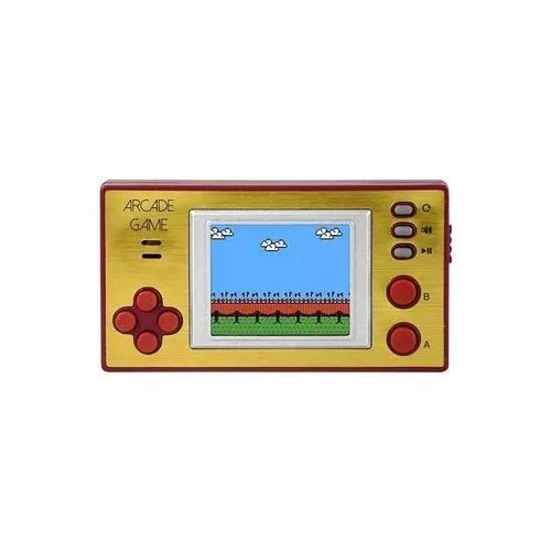 Mini fliperama com 240 jogos video game retrô para mão