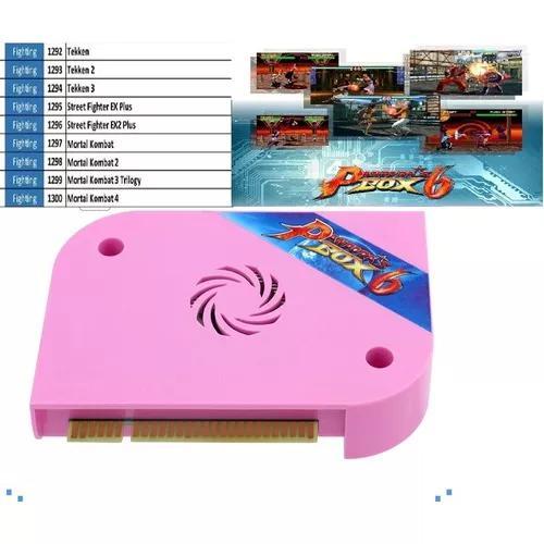 Pandora box 6 1300 games pronta entrega cga tubo! vga e hdmi