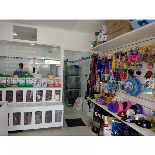 Pet shop, banho e tosa e farmácia veterinária