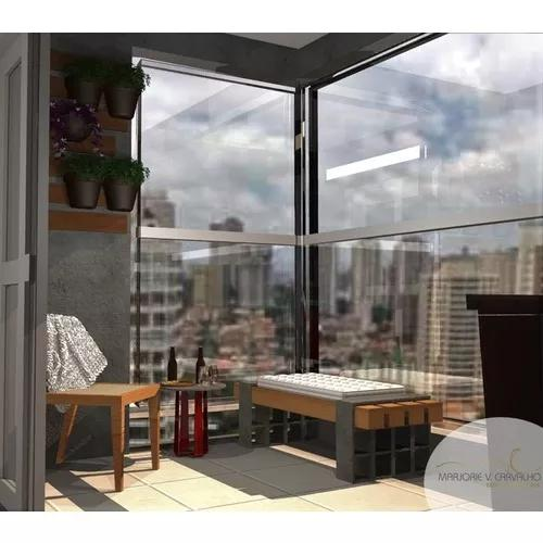 Projeto de interiores 3d realista