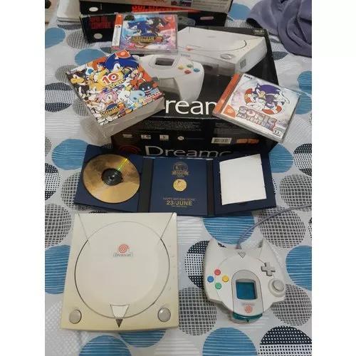 Sega dreamcast com sonic adventure 2 10th anniversary