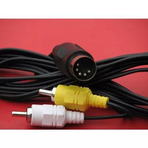 Cabo audio e video)) p/ mega drive 1 - master syst