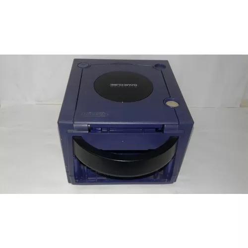 Carcaça de nintendo gamecube azul usada