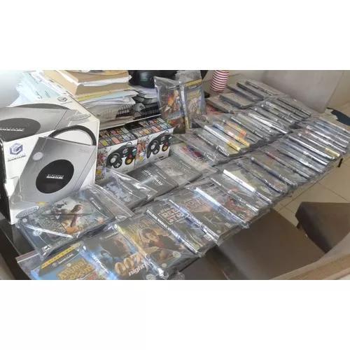 Coleção nintendo gamecube! consoles jogos e acessórios!