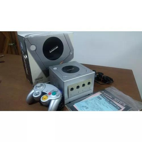 Console nintendo game cube prata na caixa