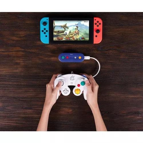 Controle gamecube preto nintendo switch super smash bros.