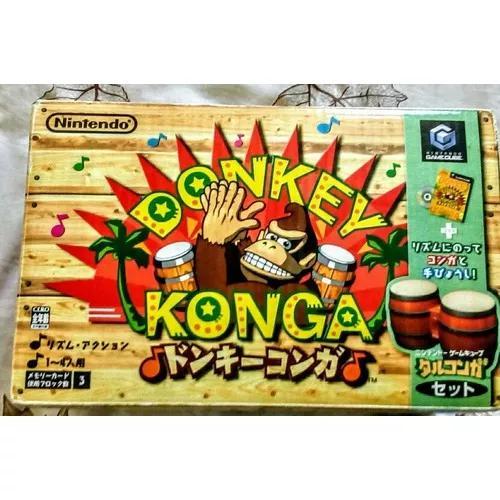 Donkey konga gamecube completo