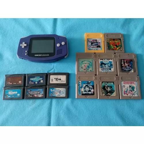 Game boy advance + 27 jogos