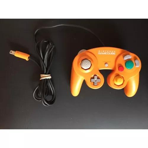 Game cube - controle original japones laranja - ít