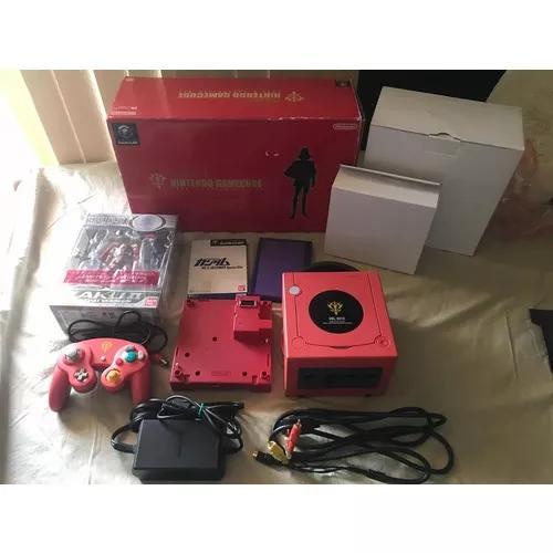 Game cube - edição limitada gundam dol-001s vermelho