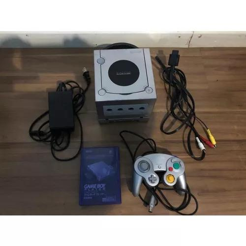 Gamecube japonês + gameboy player + cd de boot