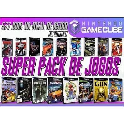 Gamecube super pack com 577 jogos (2019)