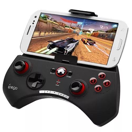 Gamepad joystick ipega jogos bluetooth smart tv pc smartphon