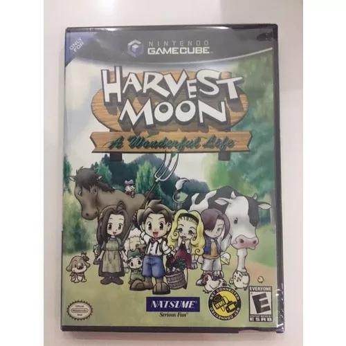 Harvest moon a wonderful life gamecube nintendo gc