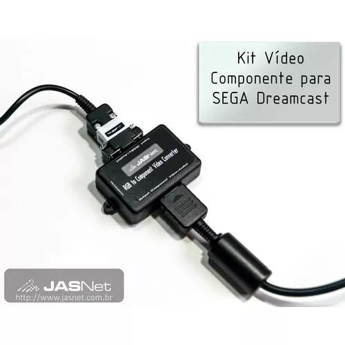 Kit video componente para sega dreamcast (jasnet)