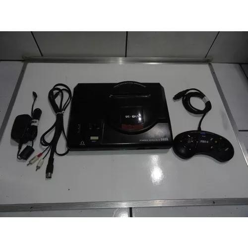 Mega drive 2 16 bit original console c jogo frete 20 c01