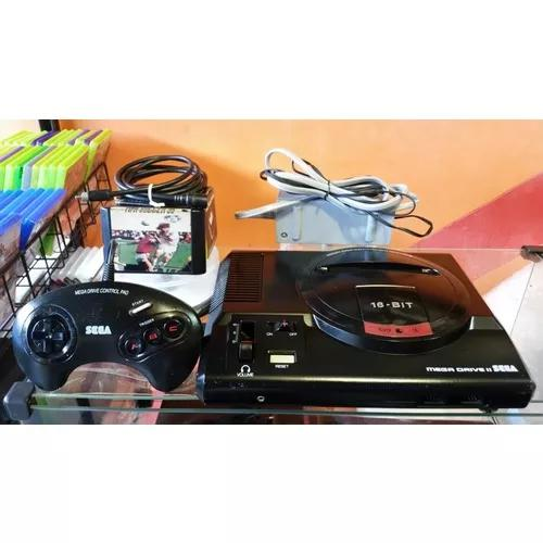 Mega drive 2 console aparelho completo lindo leia o anuncio