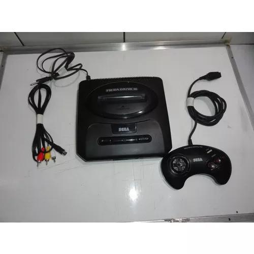 Mega drive 3 30 jogos console original anos 2k c01
