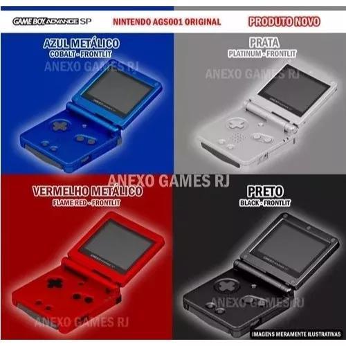 N o v o game boy sp original nintendo +gratís 369 jogos