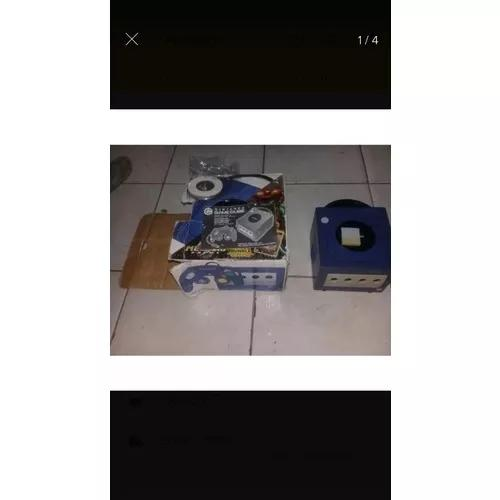 Nintendo game cube com caixa e m