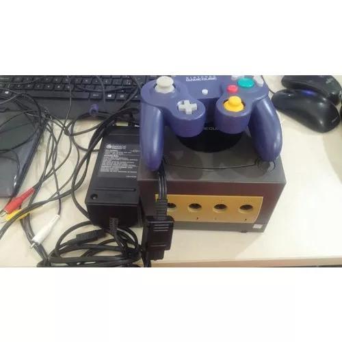Nintendo game cube completo tudo original