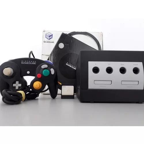 Nintendo game cube edição preta completo original com