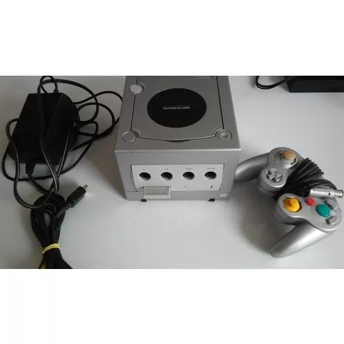 Nintendo game cube silver completo