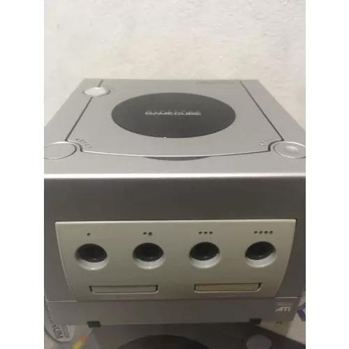 Nintendo gamecube prata usado