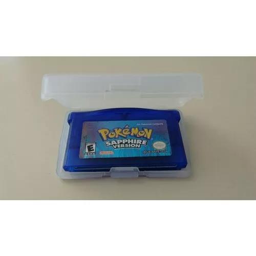 Pokémon saphire com muitos pokémons exclusivos.