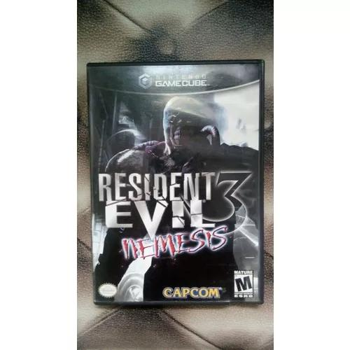 Resident evil 2 e resident evil 3 para nintendo game cube