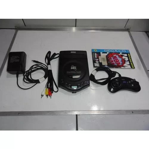 Sega cd cdx mega drive console tropicalizado original c10