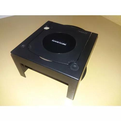 Tampa superior original nintendo gamecube preta - case