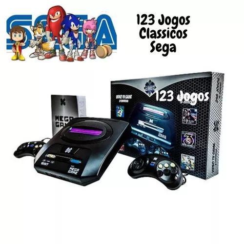 Video game mega game 123 jogos clássicos sega na m