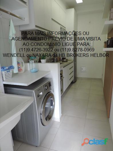 Apartamento pronto 93 m 3 dorms 1 suíte 2 vagas Movement City e Life SBC 13