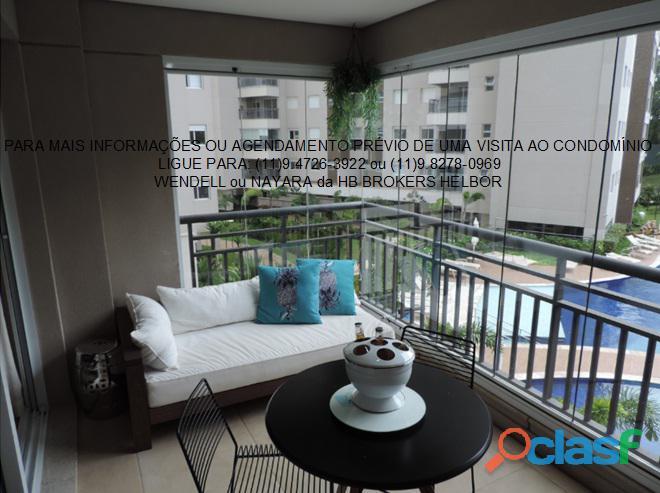 Apartamento pronto 93 m 3 dorms 1 suíte 2 vagas Movement City e Life SBC 11