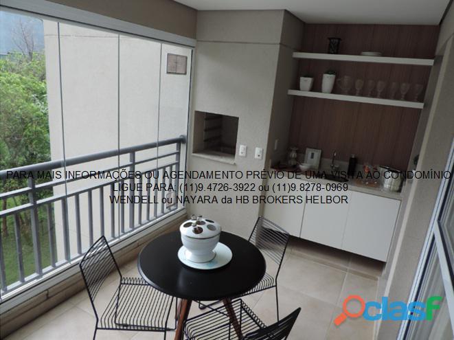 Apartamento pronto 93 m 3 dorms 1 suíte 2 vagas Movement City e Life SBC 10