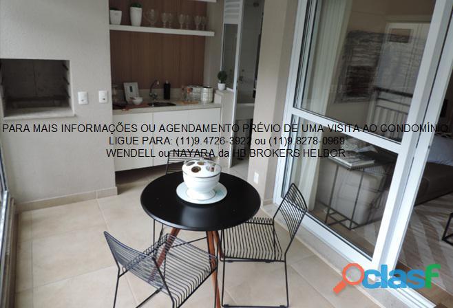 Apartamento pronto 93 m 3 dorms 1 suíte 2 vagas Movement City e Life SBC 9