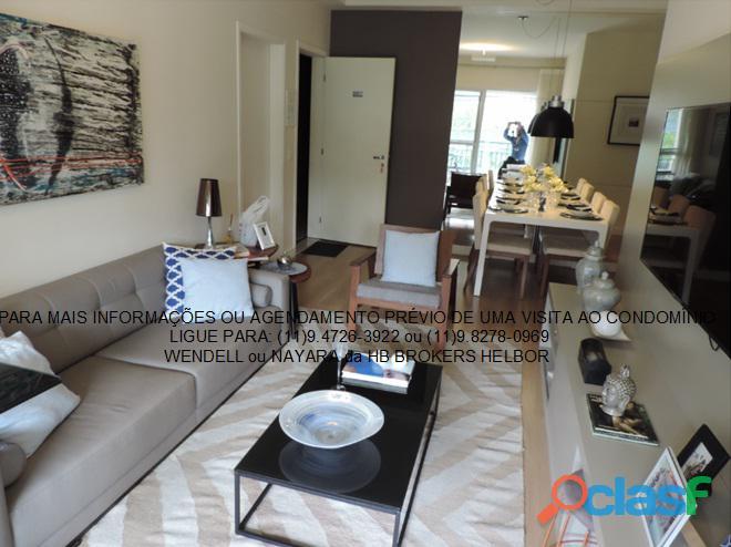 Apartamento pronto 93 m 3 dorms 1 suíte 2 vagas Movement City e Life SBC 8