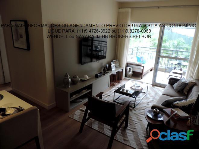 Apartamento pronto 93 m 3 dorms 1 suíte 2 vagas Movement City e Life SBC 7