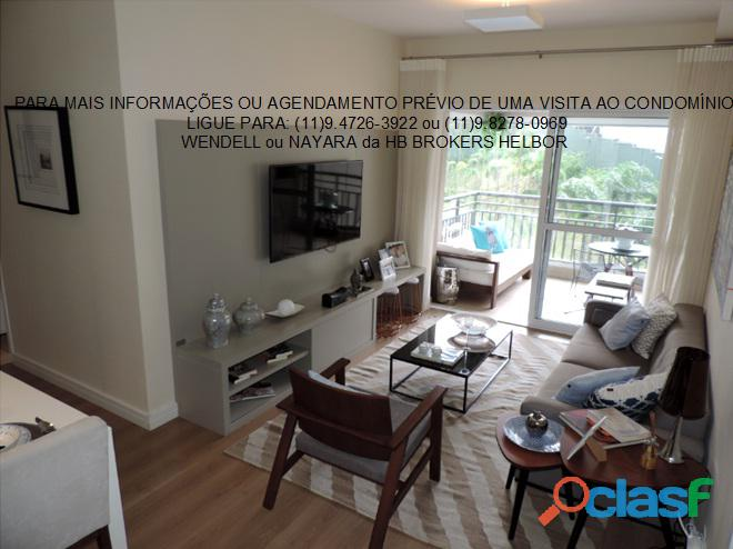 Apartamento pronto 93 m 3 dorms 1 suíte 2 vagas Movement City e Life SBC 5