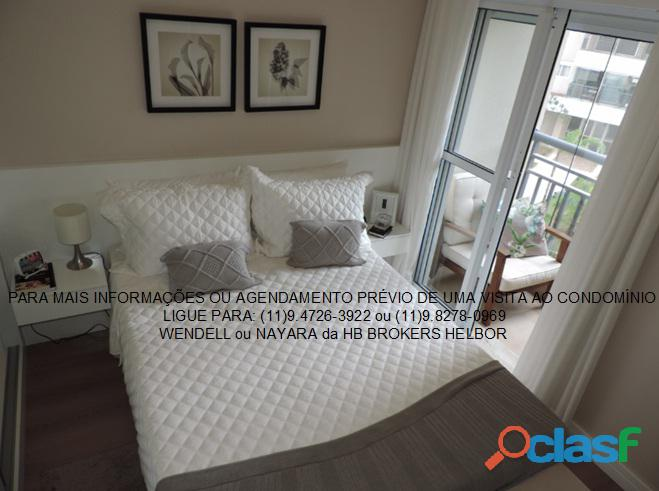 Apartamento pronto 93 m 3 dorms 1 suíte 2 vagas Movement City e Life SBC 2