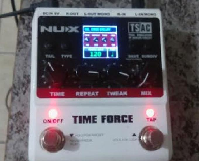 Pedal Nux Time Force Fte Grátis Delay
