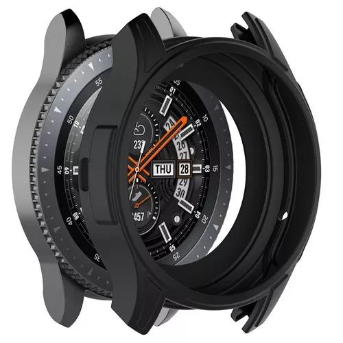 Capa case protetora samsung galaxy watch (46mm) + película