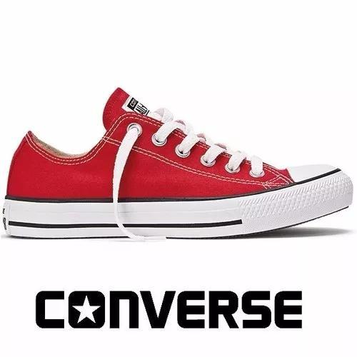 1241695d6 Tênis converse all-star ct as core ox vermelho ct00010004