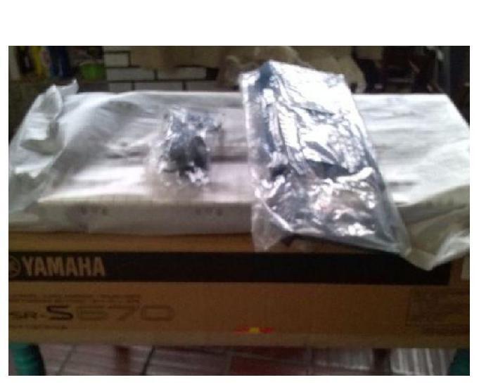 Teclado yamaha psr s670 completo oferta imperdível