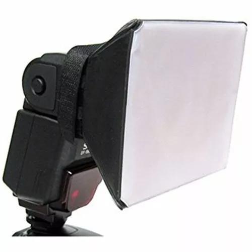 Difusor flash mini softbox universal dobrável